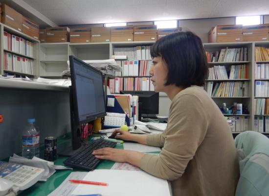 小野 早智子 入社4年目